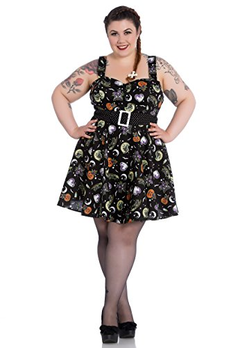 Hell Bunny Plus Size Gothic Halloween Black Cat