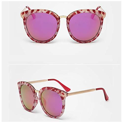 Polarized Retro Eyewear Accessories UV400 Vintage Women Sunglasses Marble Pattern Goggle Driving ()