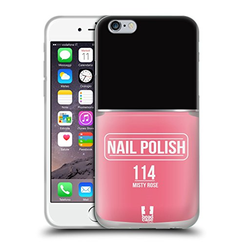 Head Case Designs Misty Rose Nail Polish Soft Gel Case for A