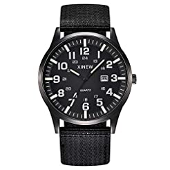 2019 Summer Deals ! Men Boy Round Dial N...