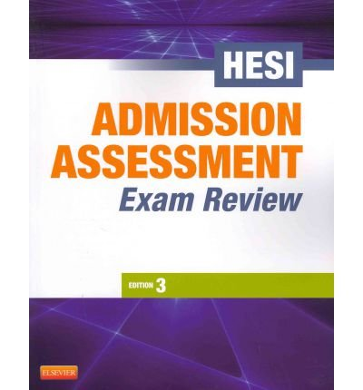 [(Admission Assessment Exam Review)] [Author: HESI] published on (April, 2012)