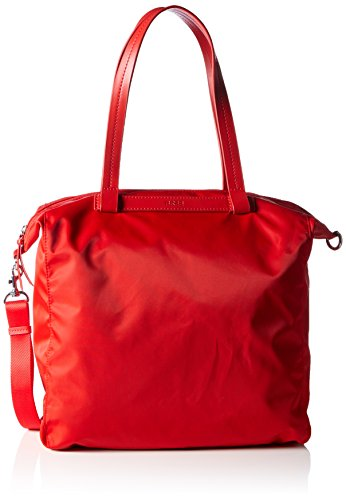 Bree Barcelona NYLON 11, Borsa shopper donna Rosso (Rot (Rouge 150))
