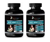 Metabolism Booster for Weight Loss for Women - White Kidney Beans Extract 500 mg - White Beans Extract - 2 Bottles (120 Capsules)