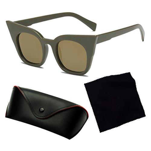 Trend Niños De Viajar Unisex Vacaciones Gafas Cat Calle Adultos Y Nuevo Moda Para C5 Estilo La adulto 400 Sunglasses Eye UV fpqgwnx