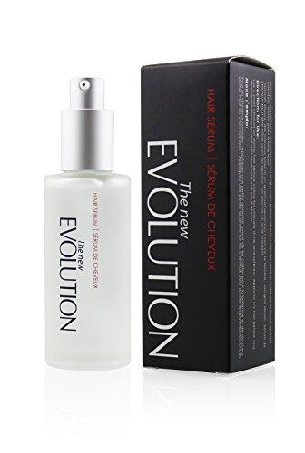 Evolution Argan Oil Hair Serum with Aloe Vera and Vitamin E, 2 Fl. Oz/ 60 Ml. (1 Pack)
