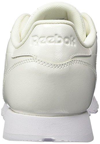 Blanc LTHR Femme Reebok Cl Running 000 Chaussures Patent White de 1W0fRFW