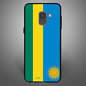 Samsung Galaxy A8 Plus rawanda Flag