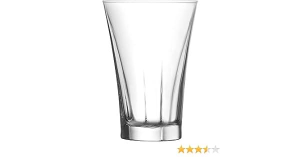 Cocktail Soda Coke Milkshake Juice Drinking Glass Set of 6-12oz- Tumbler Highball Glasses Clear Iced Tea Glasses for Drinking Water