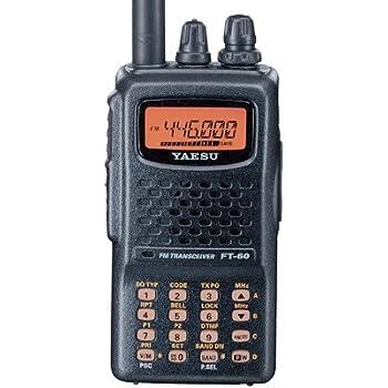 Yaesu FT-60R Dual Band Handheld 5W VHF / UHF Amateur Radio Transceiver