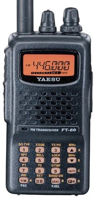 Yaesu FT-60R Dual Band Handheld 5W VHF / UHF Amateur Radio Transceiver