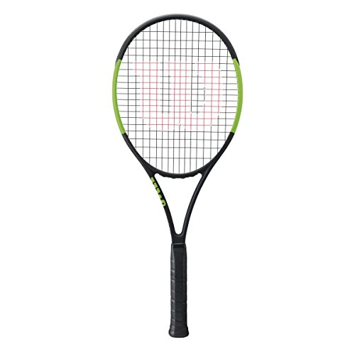 Wilson Blade Serena Williams 104 Autograph Countervail CV Extended Tennis Racquet Strung with Complimentary Custom Racket Colors