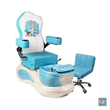 Superb Amazon Com The Little Mermaid Kids Pedicure Spa Chair Creativecarmelina Interior Chair Design Creativecarmelinacom