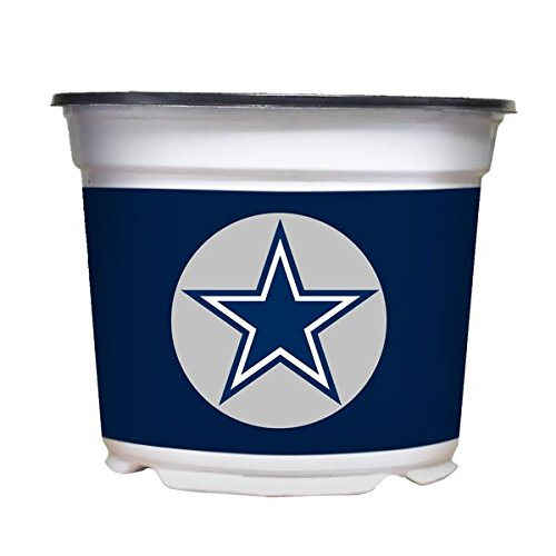 Sporticulture Dallas Cowboys Color Team Mum, 3 Quart, White by Sporticulture (Image #2)
