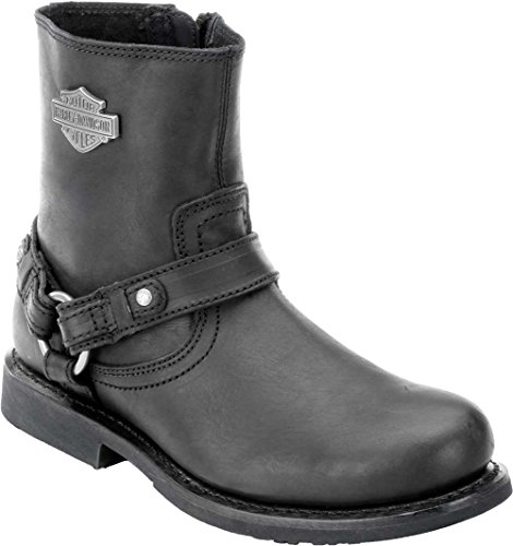 Harley-Davidson Men's Scout Motorcylce Harness Boot, Black, 11.5 M US