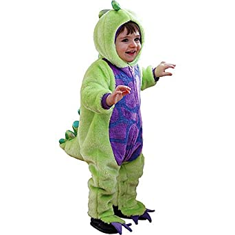 amazoncom baby dinomite dinosaur plush halloween costume by months clothing