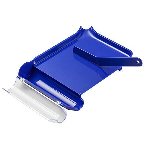 Right Hand Pill Counting Tray with Spatula (Blue) ()