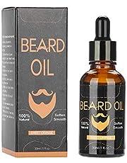 Baardolie, 30 ml Beard Oil Organic Natural Men baardolie snor groei vochtbalsem (oranje)