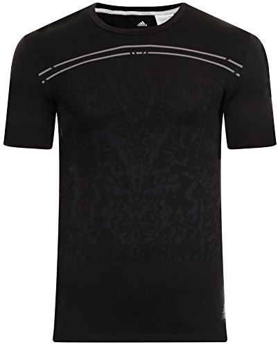 adidas Mens Supernova Primeknit S/S M Short Sleeve Fitted Running Top Size S