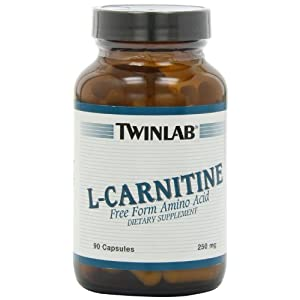 Twinlabs L Carnitine 250mg, 90 Capsules