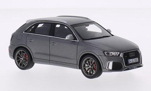 Audi Q3 RS, matt-grau, 2015, Modellauto, Fertigmodell, Spark 1:43