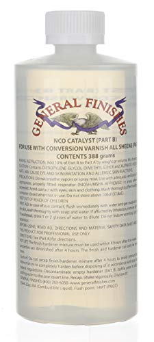 (General Finishes Water Based 2k Conversion Varnish Catalyst 13 Ounce)