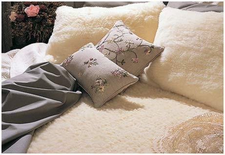 Snugfleece Wool Mattress Pad Covers - SnugFleece ORIGINAL 1.75 In. Wool Mattress Topper Pad Cover KING SIZE 78 x 80