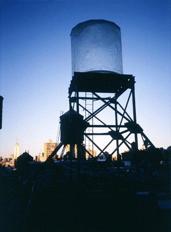 Looking Up : Rachel Whiteread's Water - Stores Watertower