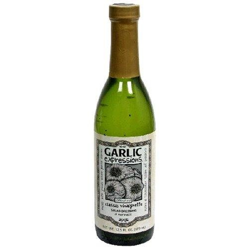 Garlic Expressions Classic Vinaigrette Salad Dressing, (Pack of 3) 12.5 ounces each