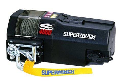 Superwinch 1440200 S4000, 12 VDC winch, 4,000lb/1814 kg s...