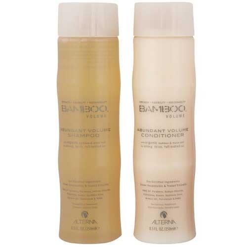 Bamboo Volume Abundant Volume Shampoo and Conditioner Set, 8