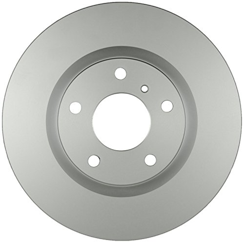 Bosch 40011039 QuietCast Premium Disc Brake Rotor For 2003-04 Infiniti G35 and 2003-05 Nissan 350Z, Front ()