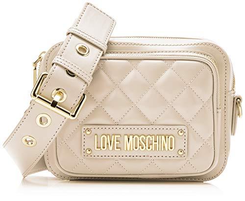 Love Moschino Matelas Nappa Pu, Sac à bandoulière Femme, 15x10x15 cm