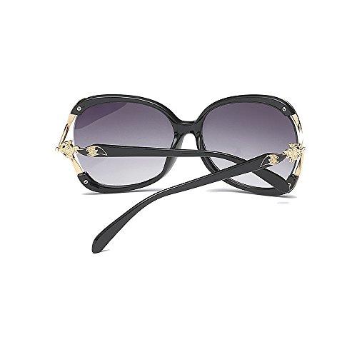 irregular de de la Protección de de sol de de Gafas sol marco Gafas sol de Gafas sol UV gato mujeres para Fox de de Negro la conducció de la ribeteadas para clásica Gafas decoración las plástico señora Cool PS1pSqHTW