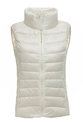 White Down Vests - 6