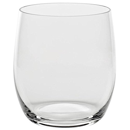Water glass ''CONDOR'' 450 ml, transparent, lead crystal glass, modern style, glass (GERMAN CRYSTAL powered by CRISTALICA)