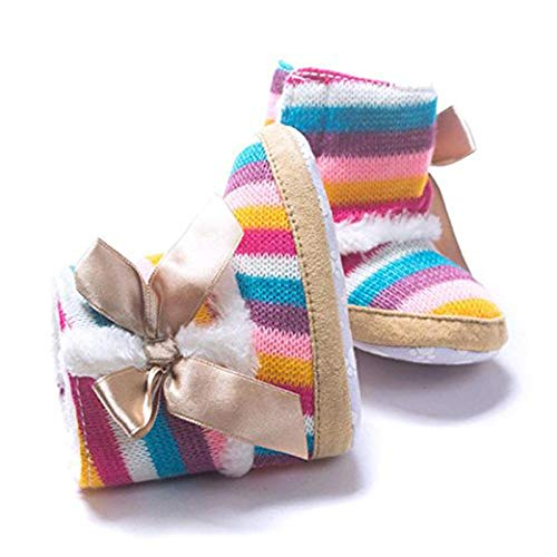 Baby Boots Toddler Snow Boots Soft Shoes Sole Anti-Slip Warm Bootie