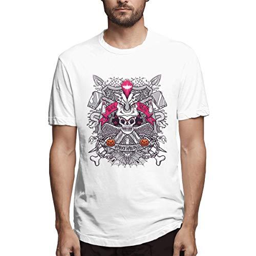 SPENCER Halloween Skeleton Novelty Men's T-Shirt Tee -