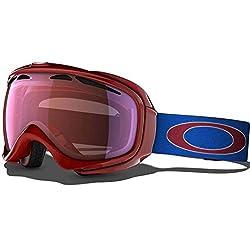 Oakley Unisex-Adult Elevate Snow Goggles(Jet Black,Black Iridium)