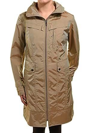 Cole Haan Womens Packable Rain Coat Medium Topaz