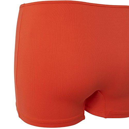 Sportkind Mädchen & Damen Tennis / Volleyball / Sport Shorts, orange, Gr. 152