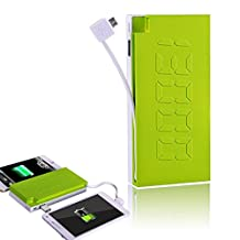 Avantree Force 13000mA External Battery, Portable, 4.5 A Dual-Output Charger Power Bank with Built-In Micro USB Cable, Fast Charging, High Capacity for iPhone 6, 6 Plus, 5S, 5C, 5, 4S, iPad Air Mini (Apple 30pin and Lightning Cable Not Included)