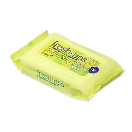 Fresh UPS húmedo toallitas cítricos limón 20 de x 12