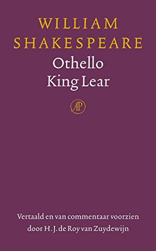 Amazoncom Othello Koning Lear Dutch Edition Ebook