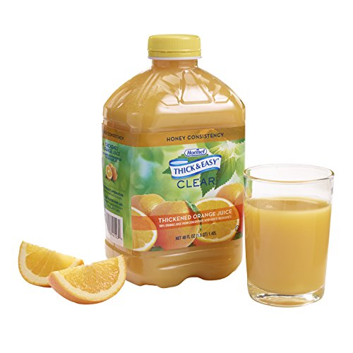 Juice Honey (Thick & Easy Thickened Orange Juice, Honey Consistency, 46 Ounce (Pack of 6))