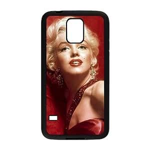 Samsung Galaxy S5 Cell Phone Case Black Marilyn Monroe SUX_063476