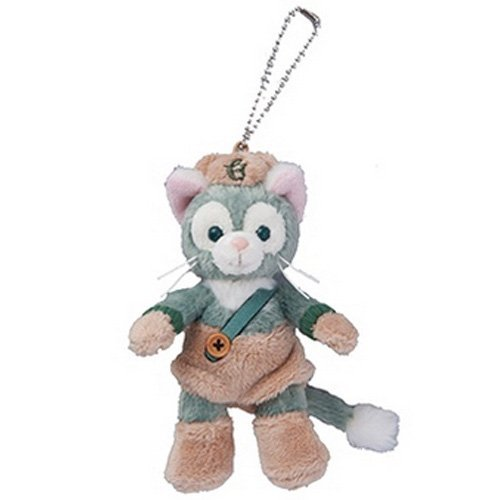 Disney Halloween 2015 Jeratoni stuffed badge (Duffy) Autumn palette [Tokyo Disney Sea Limited] Halloween -