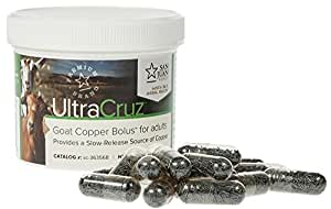 UltraCruz Goat Copper Bolus for adults, 25 x 4 grams