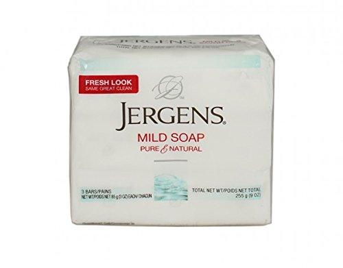 Jergens Mild Soap 3 Bars 3 oz ea (Pack of - Ea Soap Bar