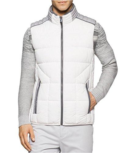 Calvin Klein Mens Colorblocked Puffer Vest 110 S by Calvin Klein
