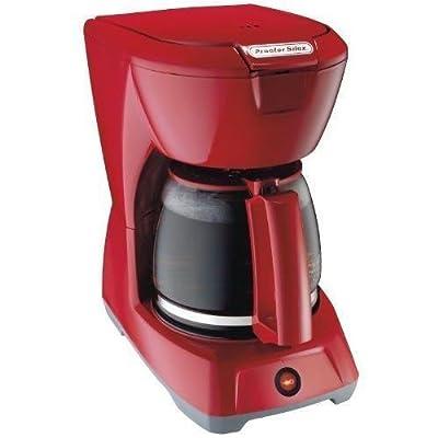 Proctor-Silex 12 Cup Coffeemaker, Red (43603) NewGY#583-4 6-DFG248837